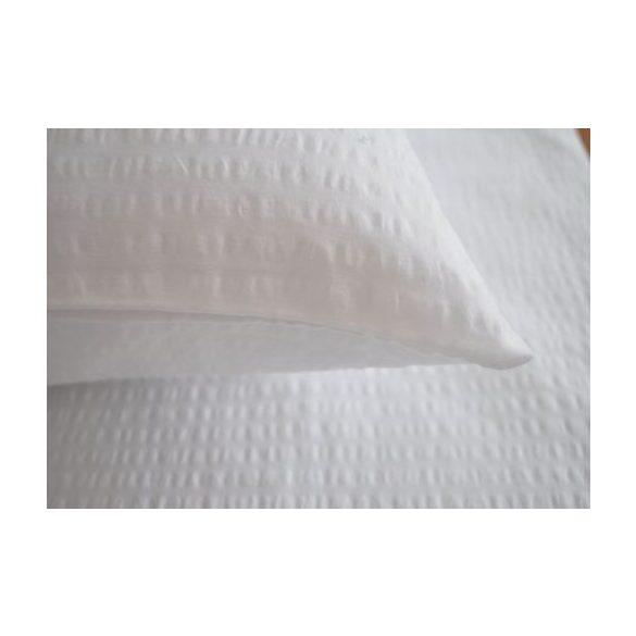 Krepp Párnahuzat (50x70, percale, fehér)