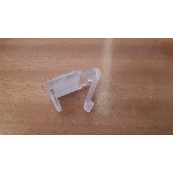 Asztalszoknya csipesz (műanyag, tépőzáras)