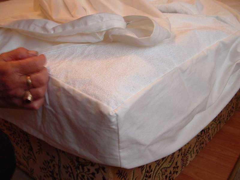 Sabata körgumis matracvédő